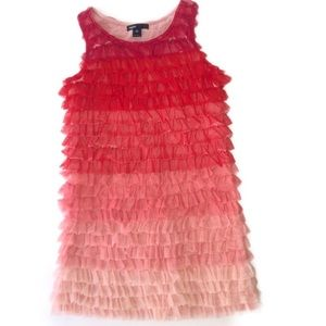 GAP Ruffle Dress
